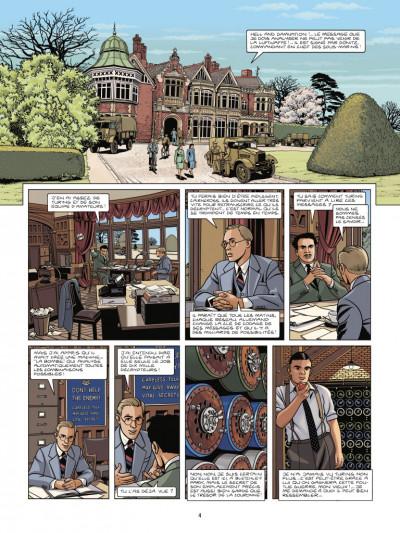 Page 2 Les cinq de Cambridge tome 3