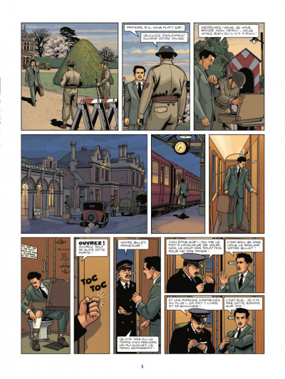 Page 3 Les cinq de Cambridge tome 3