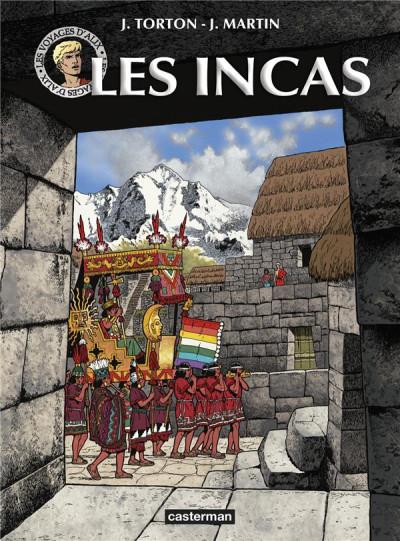 Couverture Les voyages d'Alix - Les Incas (nouvelle édition)