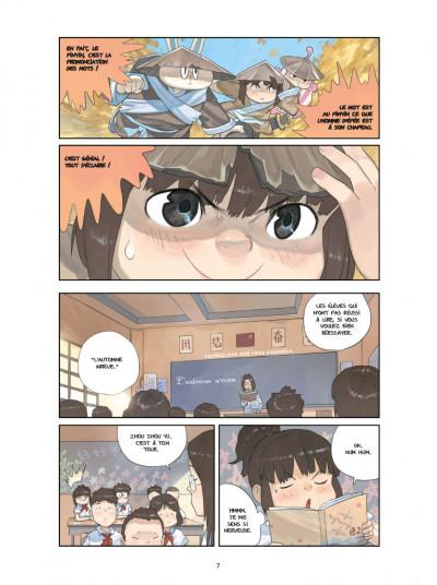 Page 4 Le monde de Zhou-Zhou tome 2