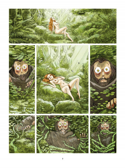 Page 8 Bouche d'ombre tome 4