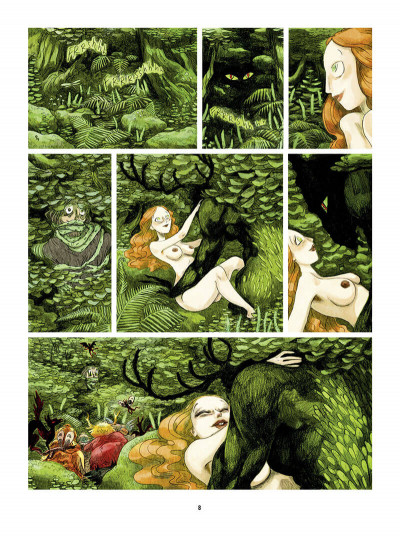 Page 9 Bouche d'ombre tome 4