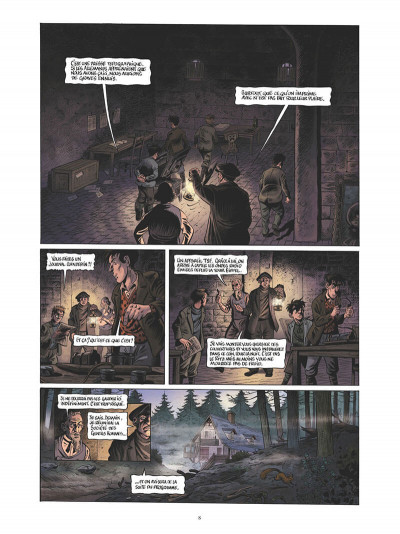 Page 9 La guerre des Lulus tome 5