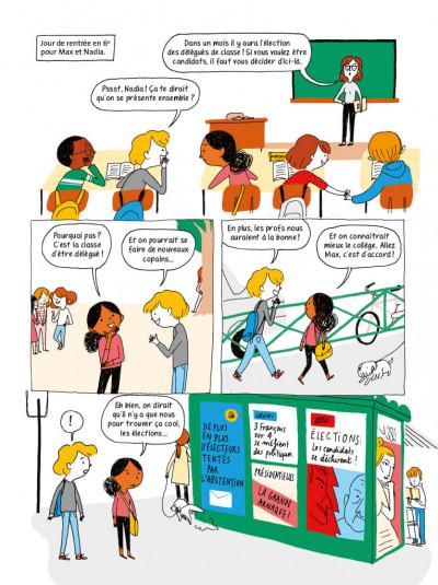 Page 1 La démocratie en BD
