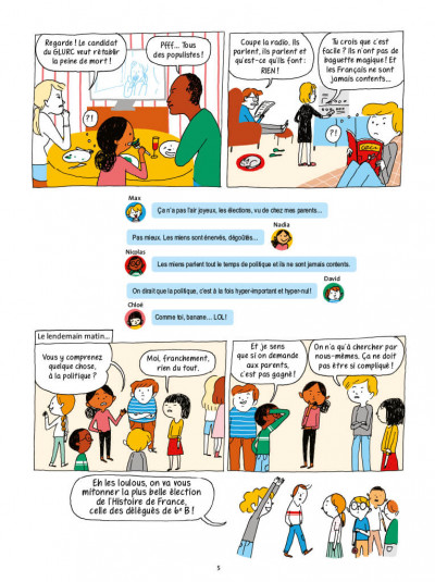 Page 2 La démocratie en BD