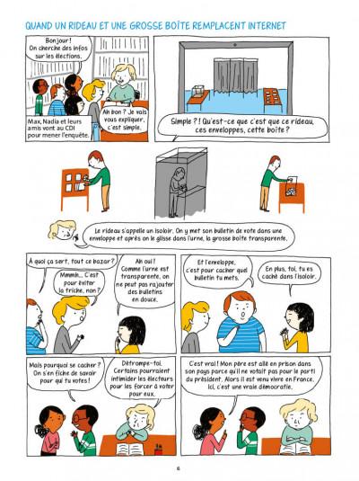 Page 3 La démocratie en BD