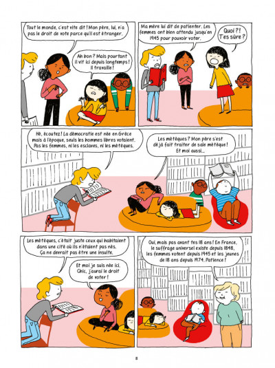 Page 5 La démocratie en BD