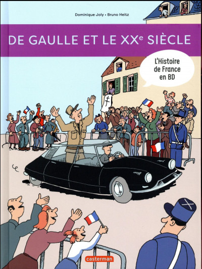 Couverture L'histoire de france en BD tome 9