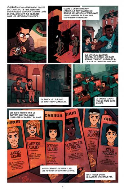 Page 1 Cherub tome 2