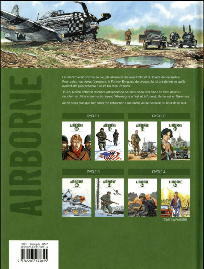 Dos Airborne 44 tome 7