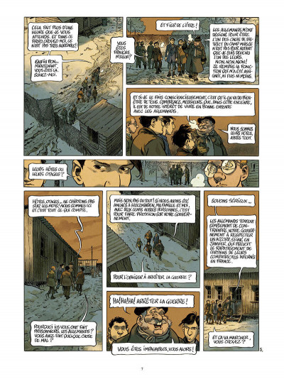 Page 8 La guerre des lulus - La perspective Luigi tome 2