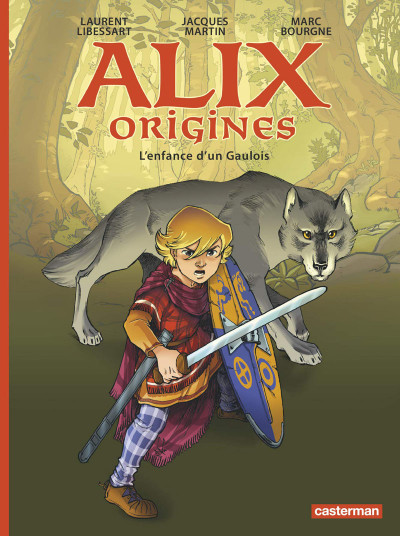 Couverture Alix origines tome 1