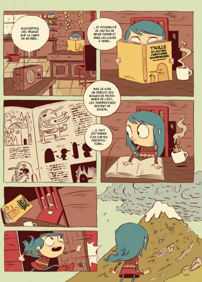 Page 2 Hilda - nouvelle édition tome 1 - Hilda et le troll