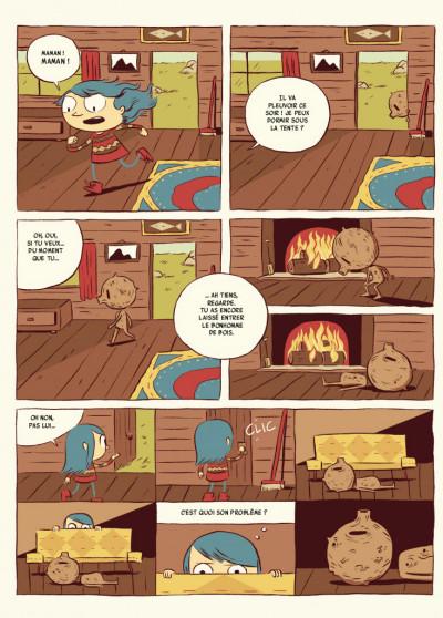 Page 3 Hilda - nouvelle édition tome 1 - Hilda et le troll