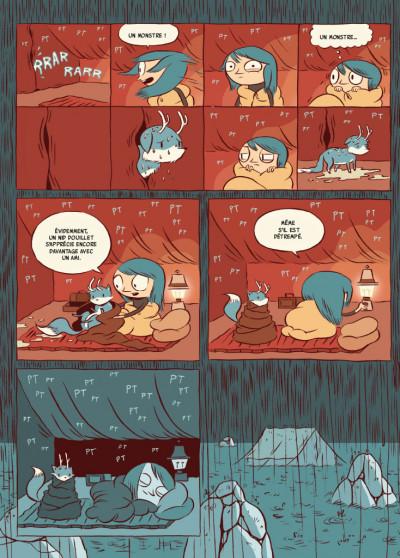 Page 5 Hilda - nouvelle édition tome 1 - Hilda et le troll