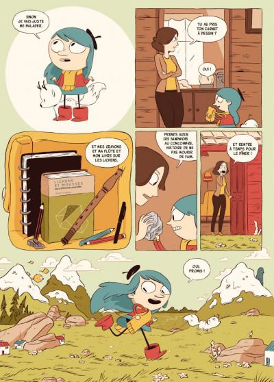 Page 2 Hilda -nouvelle édition tome 3 - Hilda et la parade des oiseaux