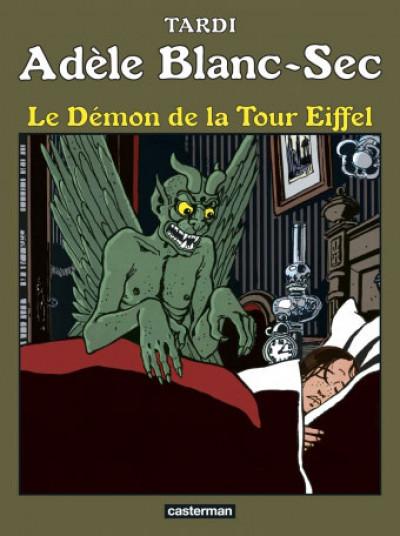 Couverture Adèle Blanc-Sec tome 2 - Le démon de la Tour Eiffel (édition 2017)