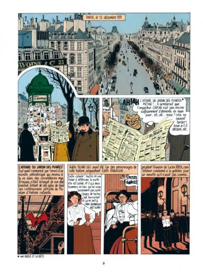 Page 1 Adèle Blanc-Sec tome 2 - Le démon de la Tour Eiffel (édition 2017)