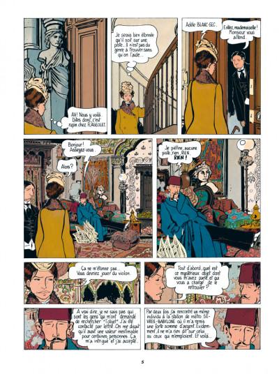 Page 3 Adèle Blanc-Sec tome 2 - Le démon de la Tour Eiffel (édition 2017)