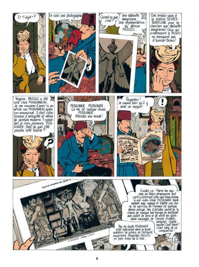 Page 4 Adèle Blanc-Sec tome 2 - Le démon de la Tour Eiffel (édition 2017)