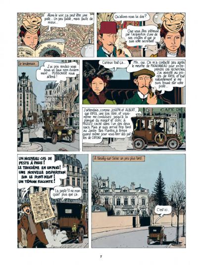 Page 5 Adèle Blanc-Sec tome 2 - Le démon de la Tour Eiffel (édition 2017)