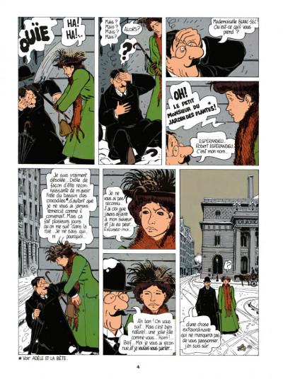 Page 2 Adèle Blanc-Sec tome 3 - Le savant fou (édition 2017)