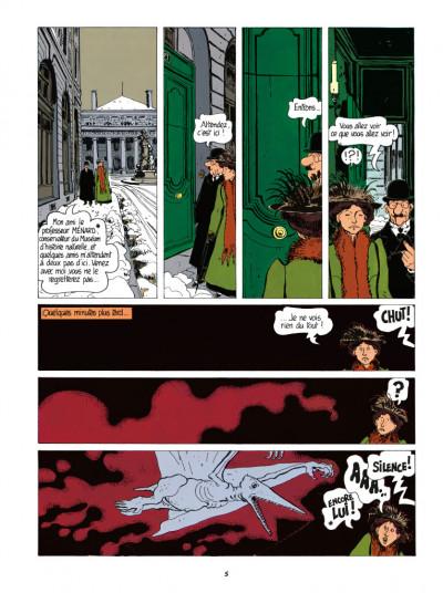 Page 3 Adèle Blanc-Sec tome 3 - Le savant fou (édition 2017)
