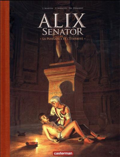 Couverture Alix Senator - édition deluxe tome 7 - La puissance et l'éternité