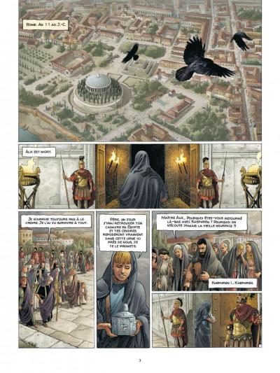 Page 1 Alix Senator - édition deluxe tome 7 - La puissance et l'éternité
