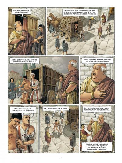 Page 3 Alix Senator - édition deluxe tome 7 - La puissance et l'éternité