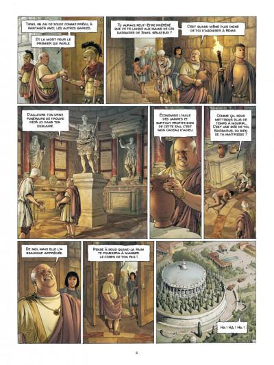 Page 4 Alix Senator - édition deluxe tome 7 - La puissance et l'éternité