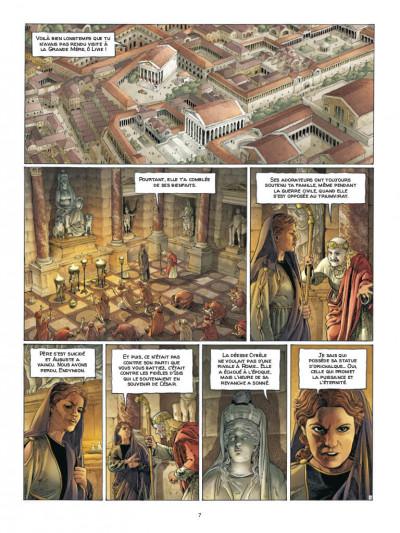 Page 5 Alix Senator - édition deluxe tome 7 - La puissance et l'éternité