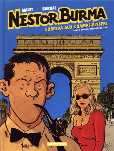 Couverture Nestor Burma tome 12 - Corrida aux Champs-Élysées