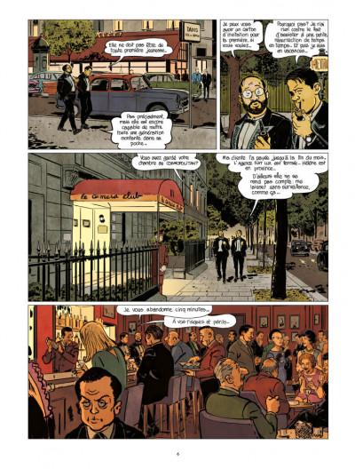 Page 4 Nestor Burma tome 12 - Corrida aux Champs-Élysées