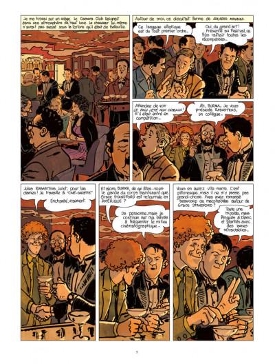 Page 5 Nestor Burma tome 12 - Corrida aux Champs-Élysées