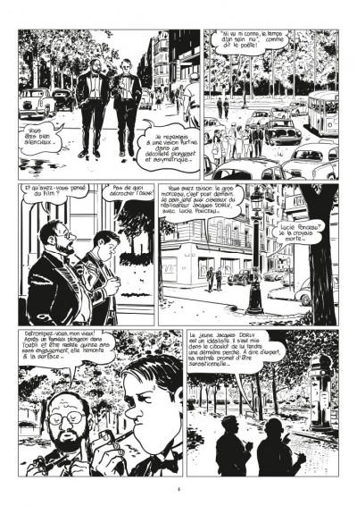 Page 3 Nestor Burma - Corrida aux Champs Elysées - journal tome 1