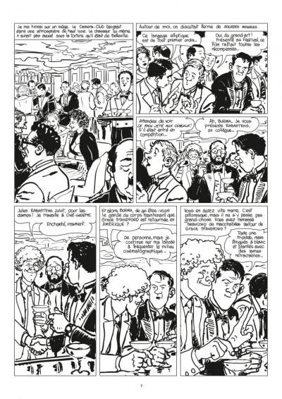 Page 5 Nestor Burma - Corrida aux Champs Elysées - journal tome 1