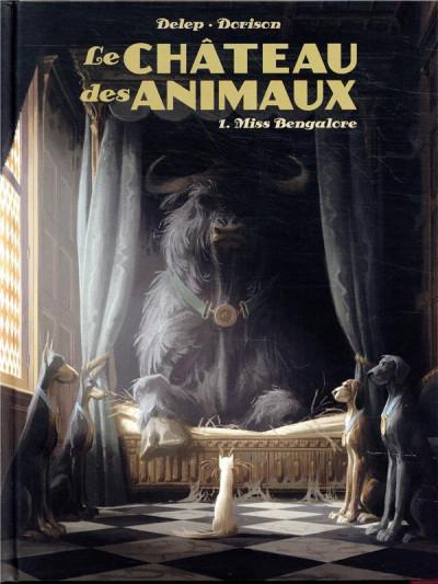 Couverture Le château des animaux tome 1