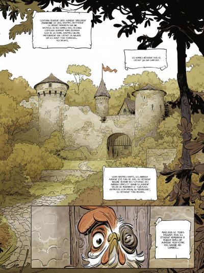 Page 8 Le château des animaux tome 1