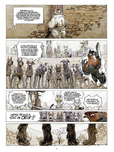 Page 9 Le château des animaux tome 1
