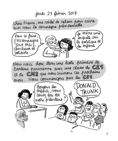 Page 1 Sociorama - Présidentielles, les élections vues par les enfants