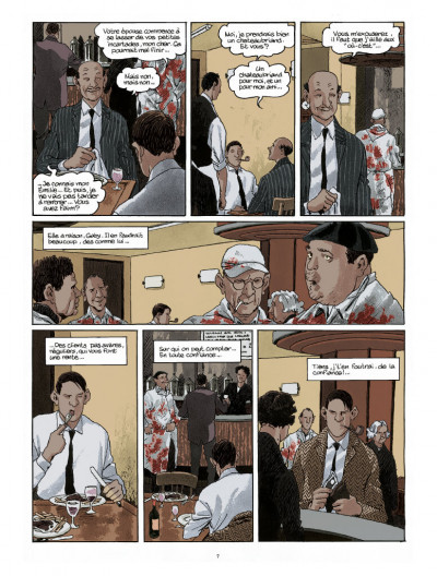Page 2 Nestor Burma tome 6 - édition 2017
