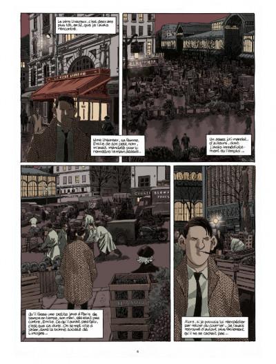 Page 3 Nestor Burma tome 6 - édition 2017