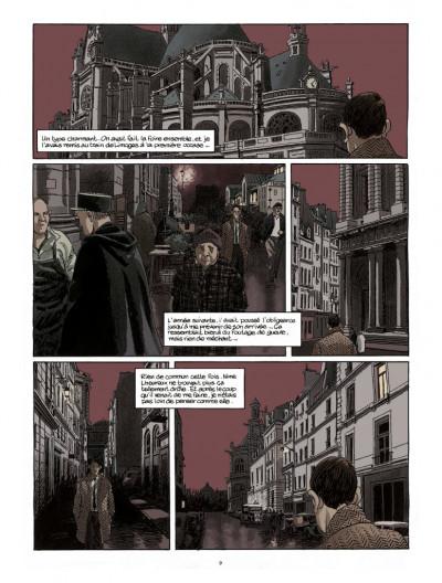 Page 4 Nestor Burma tome 6 - édition 2017