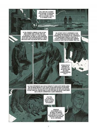Page 8 Le tueur - affaires d'état tome 2