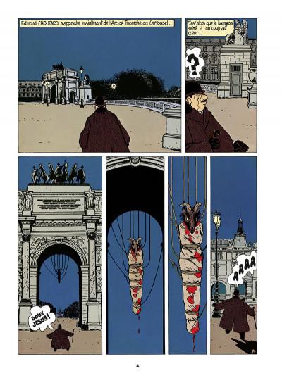 Page 5 Adèle Blanc-Sec tome 4 (édition 2018)