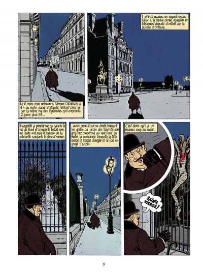 Page 6 Adèle Blanc-Sec tome 4 (édition 2018)