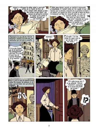 Page 8 Adèle Blanc-Sec tome 4 (édition 2018)