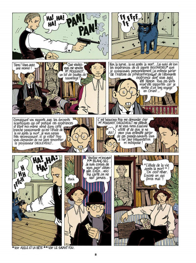 Page 9 Adèle Blanc-Sec tome 4 (édition 2018)