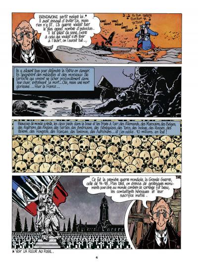 Page 5 Adèle Blanc-Sec tome 5 (édition 2018)